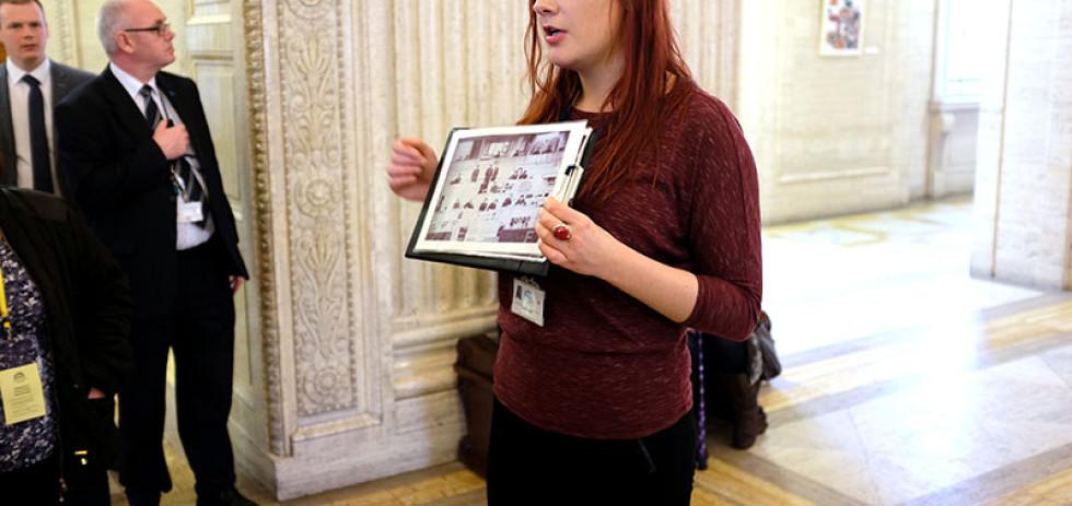 Touring the Parliament Buildings (Stormont) © Aptalops