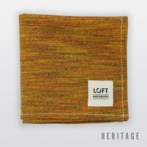 Orangefield Crescent pocket square © Loft Trading Heritage