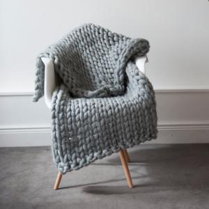 Chunky Knit Blanket © ONA by Agne