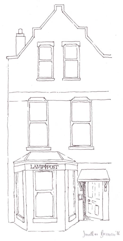 Lamppost Coffee House © Aptalops