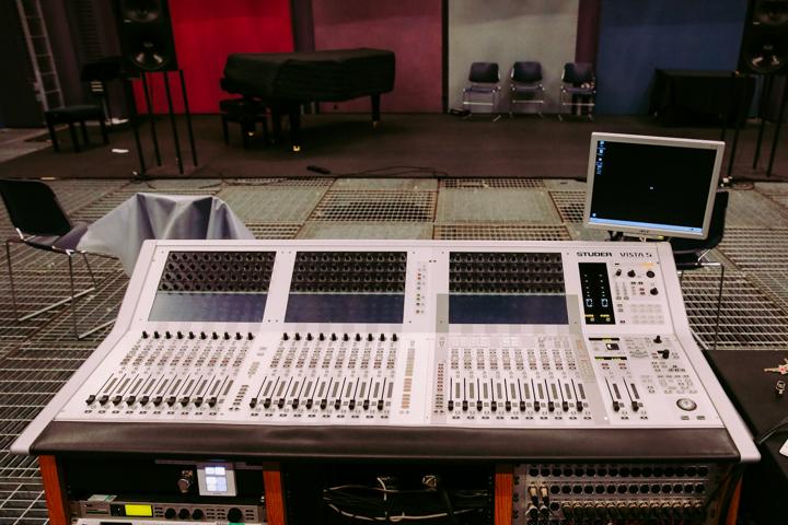 The mixing desk at SARC © Jonathan Brennan