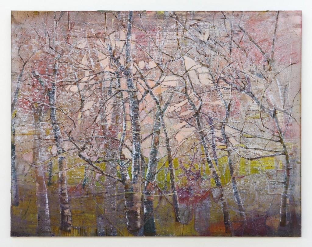 Elizabeth Magill, Dendriform 10, 2012, oil on canvas, 214 x 277cm