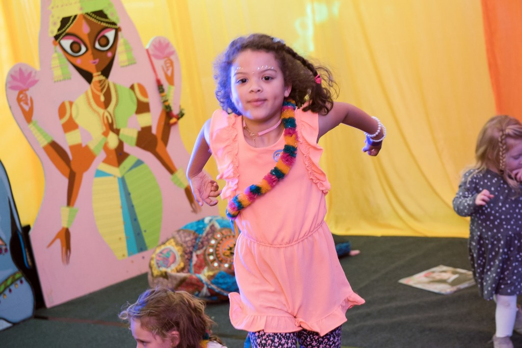 Bollywood Baba: a dance experience for 0-10 year olds with Bollywood Dancers at this year's Eastside Arts Festival